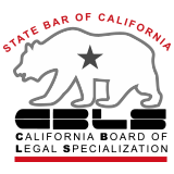 California Bar Board of Legal Specialization