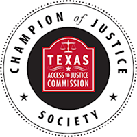State Bar of Texas Champion of Justice Society